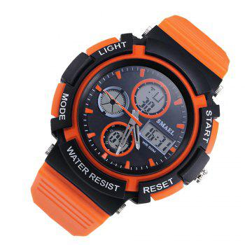 SMAEL 1310 Fashion Multi-Function Waterproof Sport LED Watch for Teenagers - ORANGE