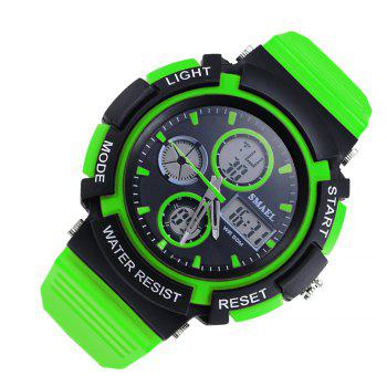 SMAEL 1310 Fashion Multi-Function Waterproof Sport LED Watch for Teenagers - GREEN