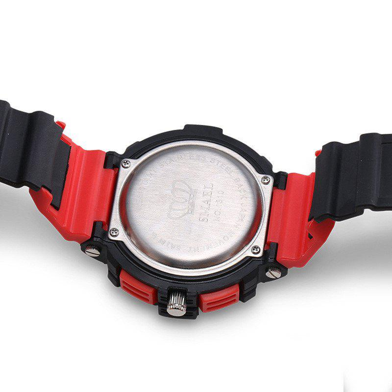 SMAEL 1310 Fashion Multi-Function Waterproof Sport LED Watch for Teenagers - RED