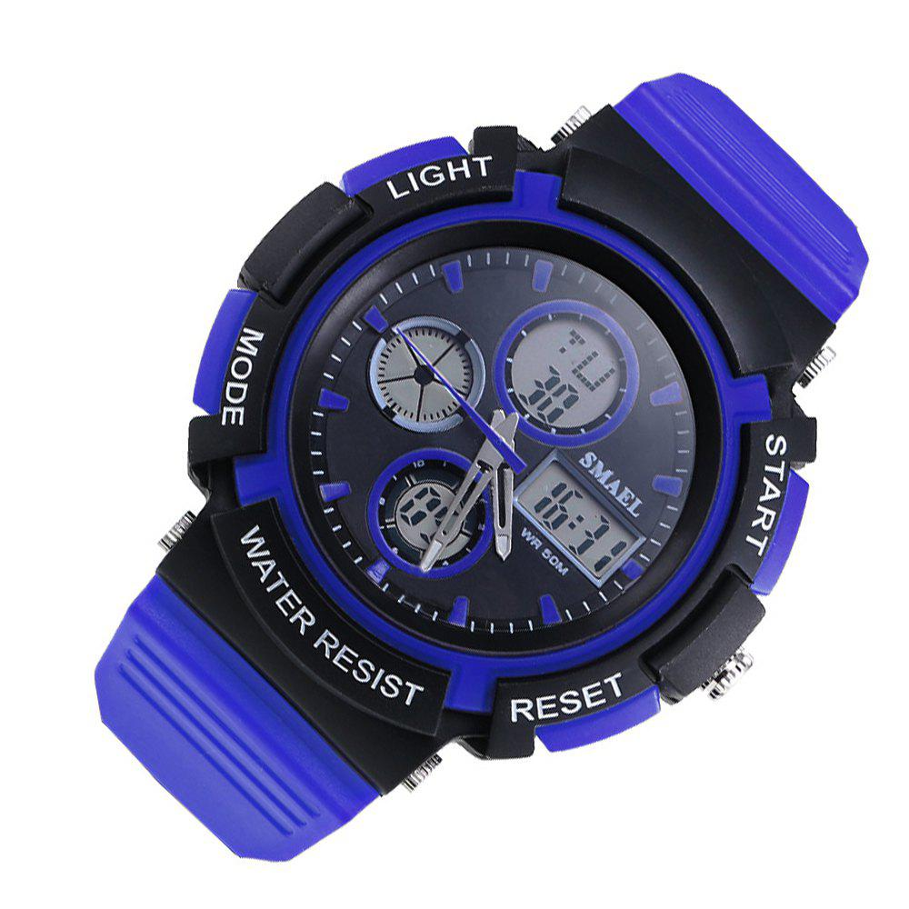 SMAEL 1310 Fashion Multi-Function Waterproof Sport LED Watch for Teenagers - BLUE