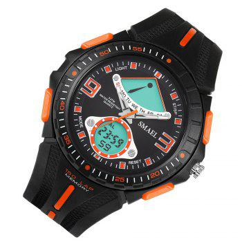 SMAEL 1315 Fashion Multi-function Electronic Sport LED Watch - ORANGE