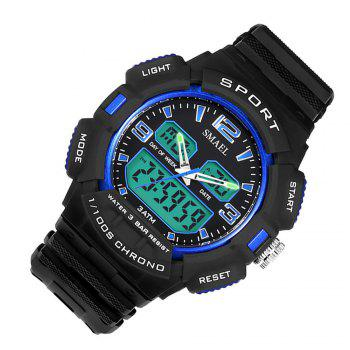 SMAEL 1343 Fashion Multi-function Waterproof LED Electronic Watch Outdoor Sport - BLUE