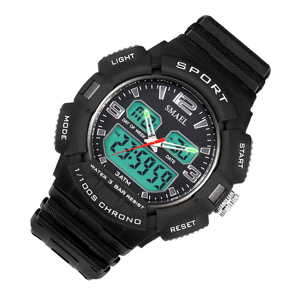 SMAEL 1343 Fashion Multi-function Waterproof LED Electronic Watch Outdoor Sport - GRAY