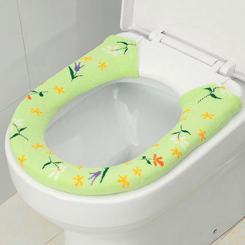 A Button Toilet Seat in Winter To Warm Universal Sitting Toilet Cover - IVY 15X76CM