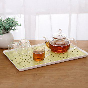 Hollowed-Out Double - Double - Water Tray Table Tray Tea Tray Tea Tray - IVY IVY