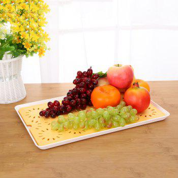 Hollowed-Out Double - Double - Water Tray Table Tray Tea Tray Tea Tray - ORANGE ORANGE