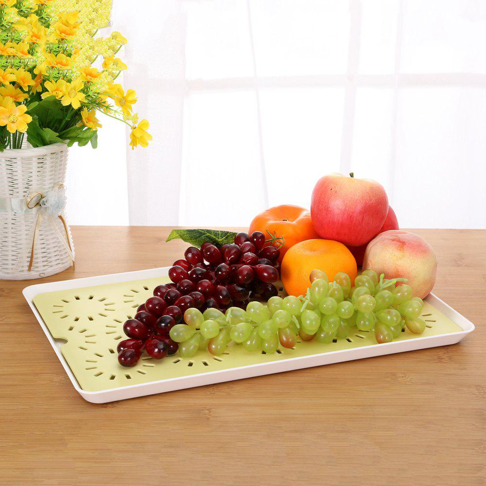 Hollowed-Out Double - Double - Water Tray Table Tray Tea Tray Tea Tray - IVY 40X25X21CM