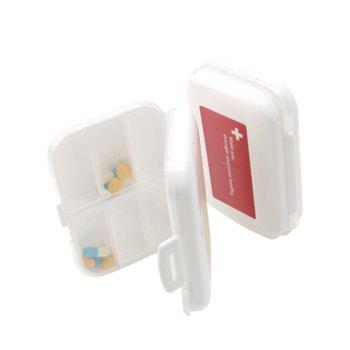 A Portable Medicine Box, A Portable Medicine Box, A Weekly Travel Pill Box - RED 11X8X3CM