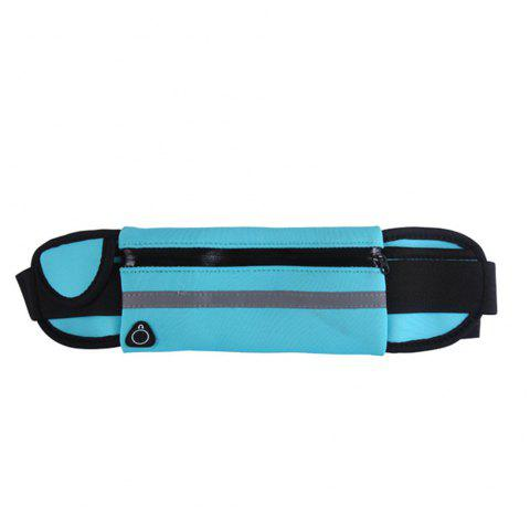 Sport Running Belt Pouch Storage Pack For iPhone X 8 7 6S - BLUE