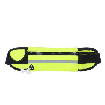 Sport Running Belt Pouch Storage Pack For iPhone X 8 7 6S - YELLOW YELLOW