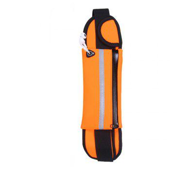 Sport Running Belt Pouch Storage Pack For iPhone X 8 7 6S -  ORANGE