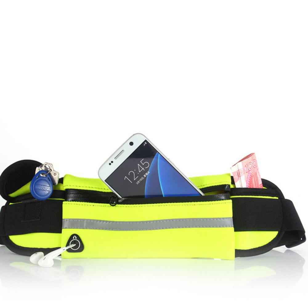 Sport Running Belt Pouch Storage Pack For iPhone X 8 7 6S - YELLOW