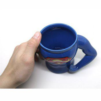Muscle Pectoral Cup - BLUE