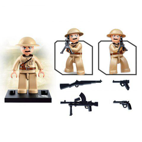 Sluban Building Blocks Educational Kids Toy Army Set 1PC - ARMY