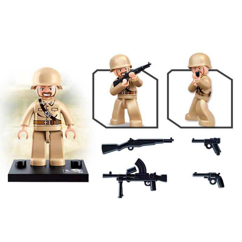 Sluban Building Blocks Educational Kids Toy Army Set 1PC - EARTHY
