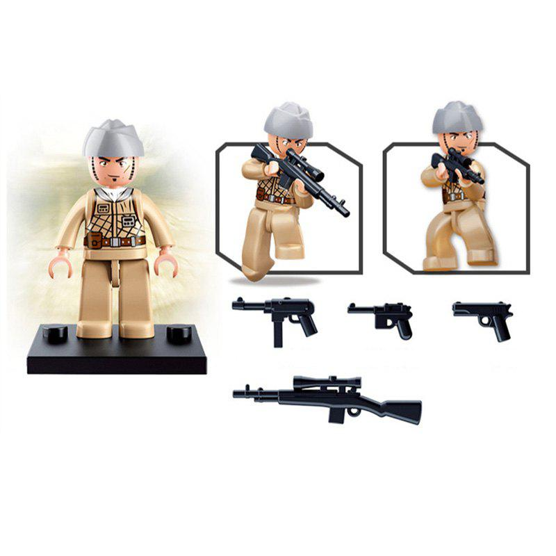 Sluban Building Blocks Educational Kids Toy Army Set 1PC - LATERITE