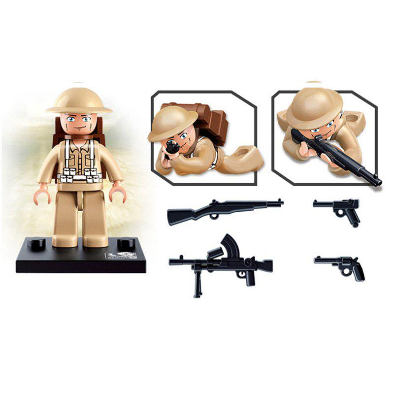 Sluban Building Blocks Educational Kids Toy Army Set 1PC - ARMYGREEN