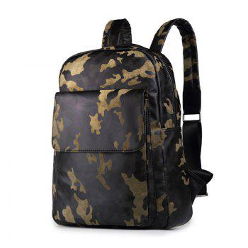 Camouflage Men s Shoulder Bag Fashion Backpack
