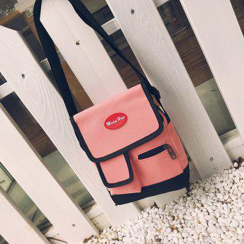 Canvas Oblique Across Packets - PINK