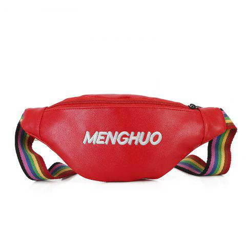 Sac de messager de rubans de couples - Rouge