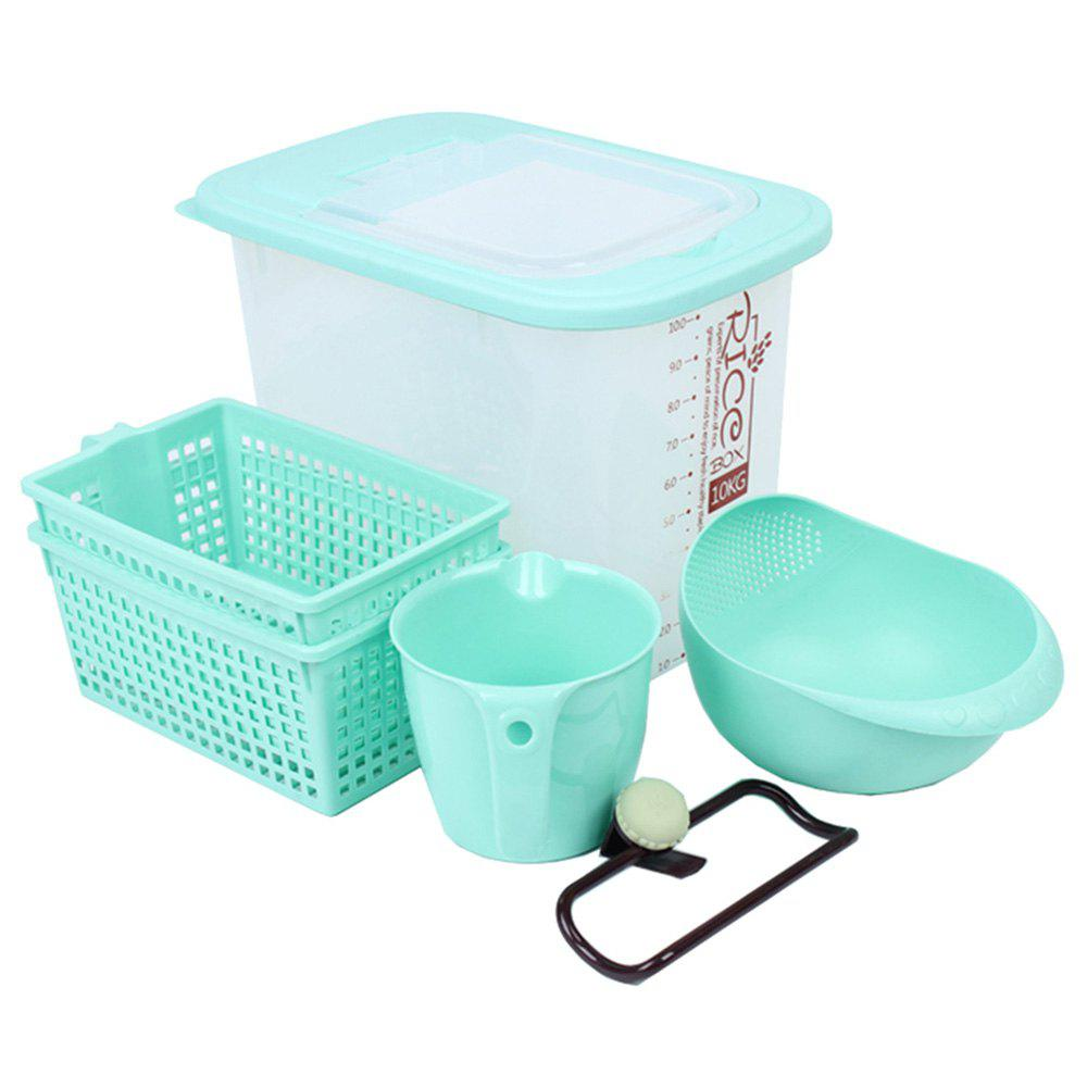 2018 Bonawu Multifunction Kitchen Utensils 6PCS BLUE GREEN In ...