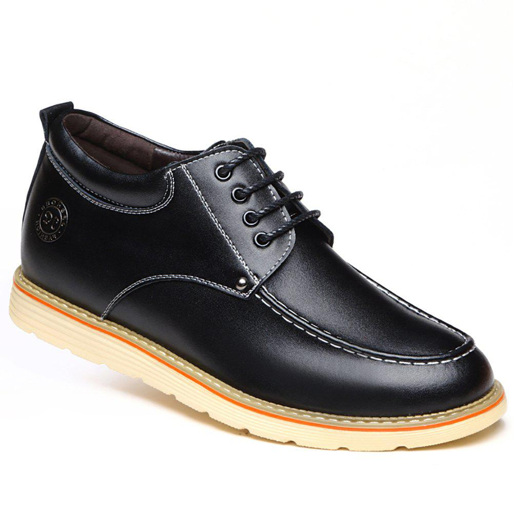 Increase Height Leisure Shoes - BLACK 40
