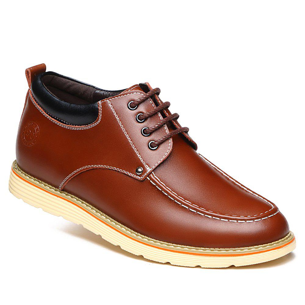 Increase Height Leisure Shoes - BROWN 42