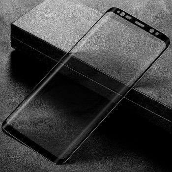 9H Hardness 0.3mm Full Screen Tempered Glass Film Screen Protector for Samsung Galaxy S9 Plus - BLACK
