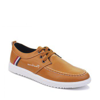 Hot Style Leather Soft Sneakers For Men