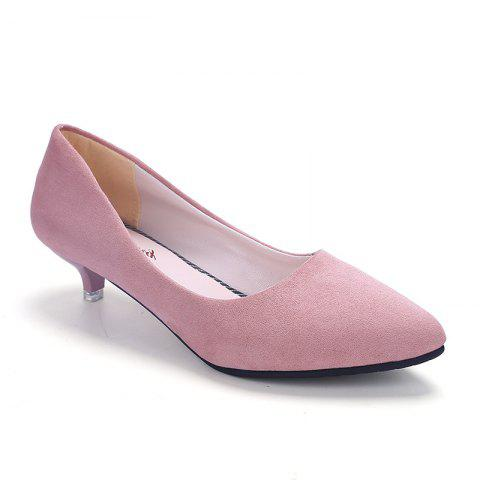 Pointy Head Grind Arenaceous Small Shoes - PINK 36