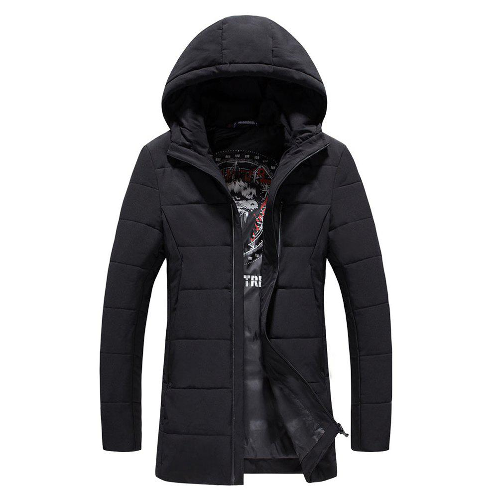2018 Men's Warm Fashion Clothes - BLACK M
