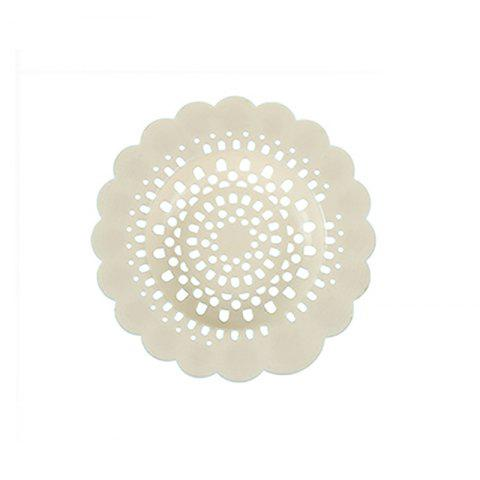 Flower Type Filter Net Kitchen Sink Drain Anti - BEIGE