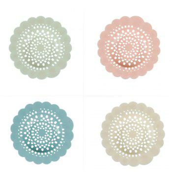Flower Type Filter Net Kitchen Sink Drain Anti - BLUE