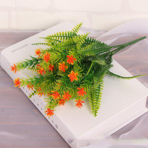 4 Pcs Green Grass Plants Artificial Flower Babysbreath Simulation Flower Wedding Decoration for Home Party Office - JACINTH