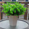 6 Pcs Artificial Plants Decorative Simulation Eucalyptus Grass Home Table Decoration Quality Flower Accessories - GREEN