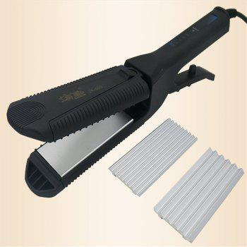 Curly Hair Stick Modeling Supplies Straight Clip -  BLACK