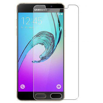 2PCS Screen Protector for Samsung Galaxy A5 2017 HD Full Coverage High Clear Premium Tempered Glass - TRANSPARENT