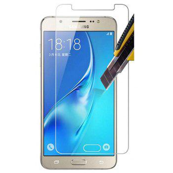 2PCS Screen Protector for Samsung Galaxy A7 2017 HD Full Coverage High Clear Premium Tempered Glass - TRANSPARENT
