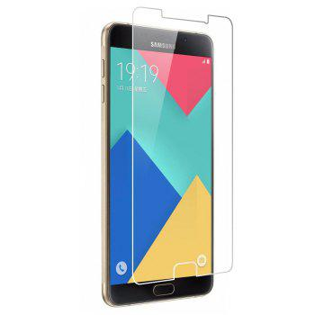 2PCS Screen Protector for Samsung Galaxy A7 2016 HD Full Coverage High Clear Premium Tempered Glass - TRANSPARENT