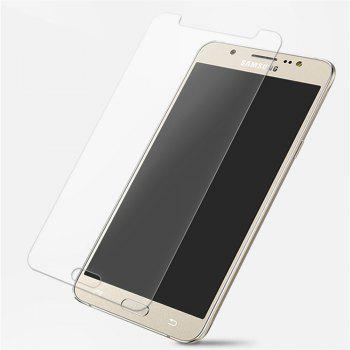 2PCS Screen Protector for Samsung Galaxy J5 2016 HD Full Coverage High Clear Premium Tempered Glass - TRANSPARENT