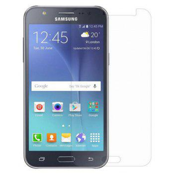 2PCS Screen Protector for Samsung Galaxy J5 HD Full Coverage High Clear Premium Tempered Glass - TRANSPARENT