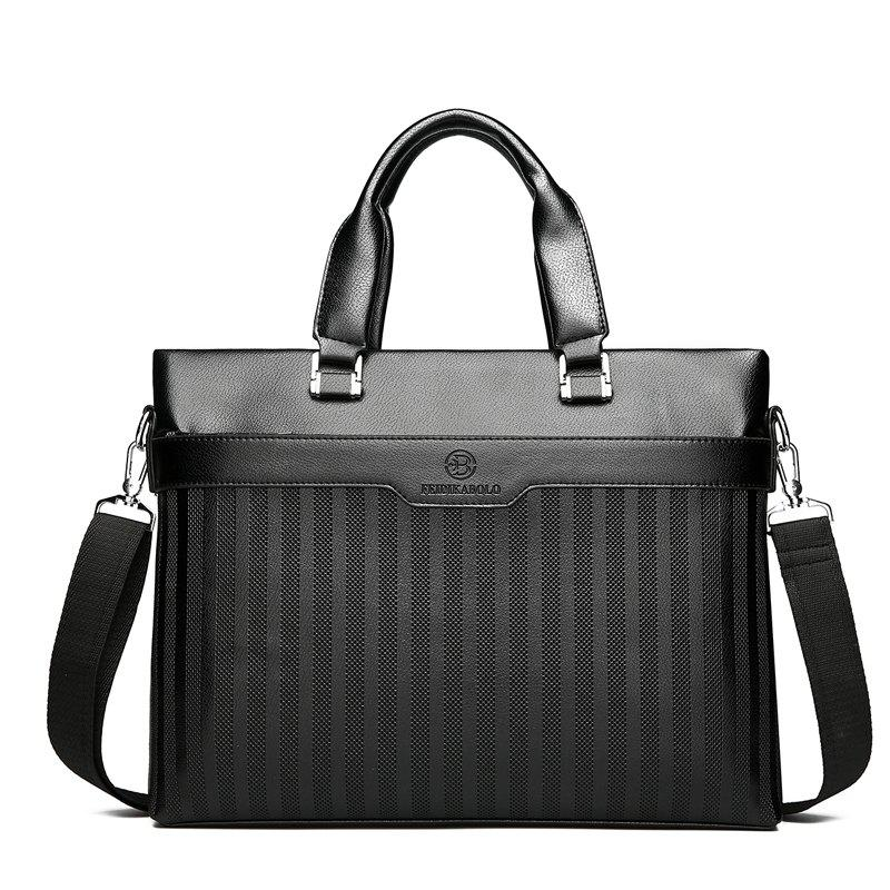 Business Shoulder Bag Handbag Messenger Bag - BLACK