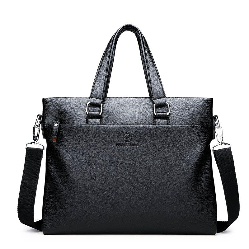 Handbag Cross Section Shoulder Bag Messenger Bag - BLACK