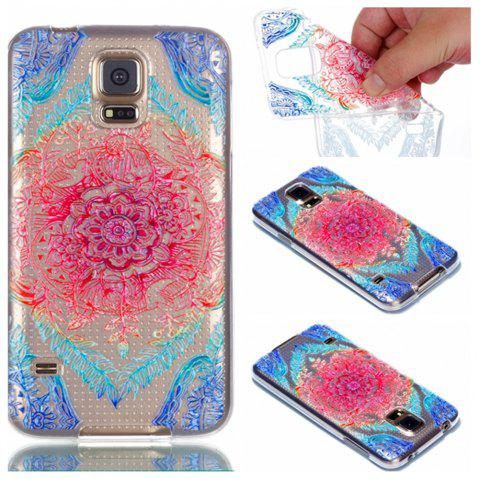 for Samsung S5 Lace Painted Soft Clear TPU Phone Casing Mobile Smartphone  Cover Shell Case