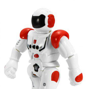 Gesture Sensor Intelligent Control Programming Dancing Walking Sing RC Robot Toy - RED