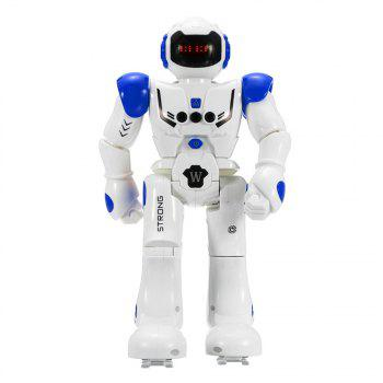 Gesture Sensor Intelligent Control Programming Dancing Walking Sing RC Robot Toy - BLUE BLUE
