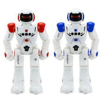 Gesture Sensor Intelligent Control Programming Dancing Walking Sing RC Robot Toy -  BLUE