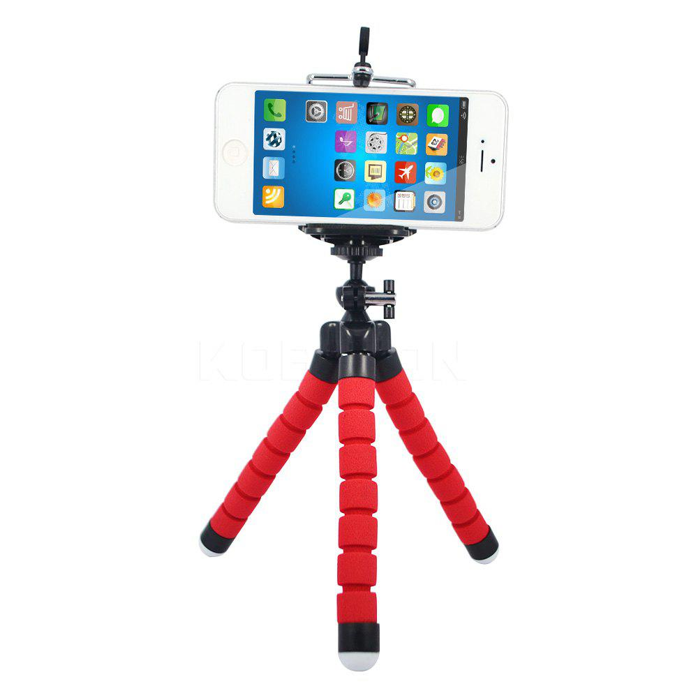 Support de trépied Octopus flexible Support de trépied Selfie - Rouge