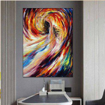 Hand Painted Abstract Figure Art Nude Girl Oil Painting Home Decoration - COLORMIX COLORMIX