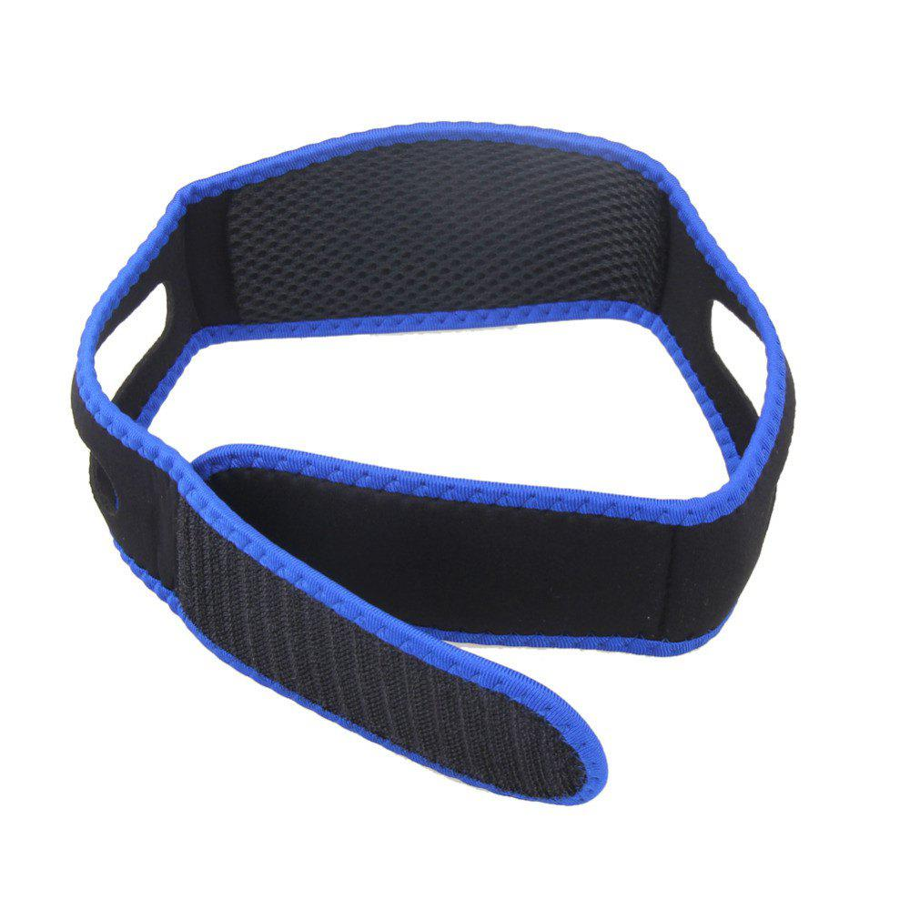 Men and Women with Anti-Snoring Headband - BLACK
